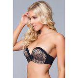 Miracle Push-Up Strapless BH - Zwart_