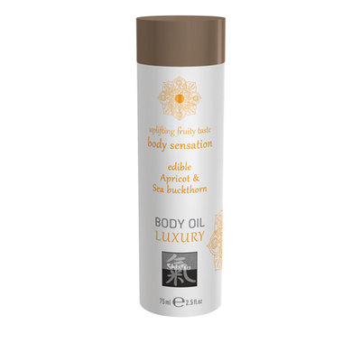 Luxe Eetbare Body Oil - Abrikoos & Duindoorn