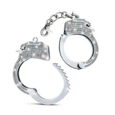 Temptasia - Bling Verstelbare Handboeien - Zilver