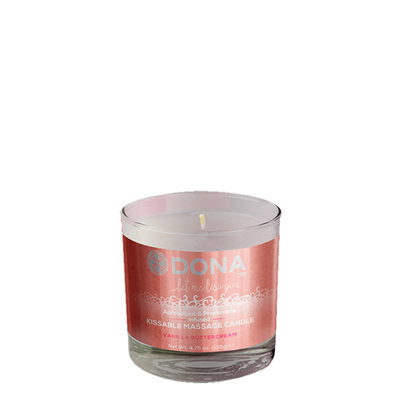 Dona Kissable Massage Candle Vanilla