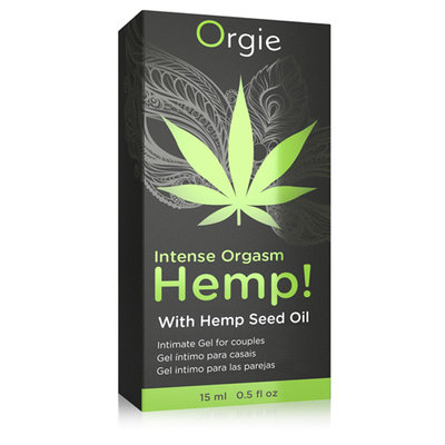 Intense Orgasm Hemp Gel - 15 ml