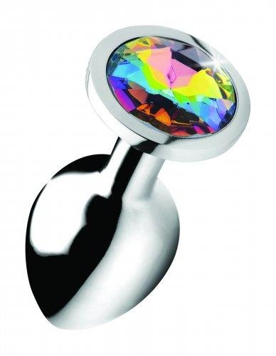 Image of Rainbow Gem Buttplug - Middel