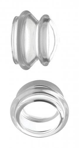 Image of Clear Plungers Tepelzuigers - Large