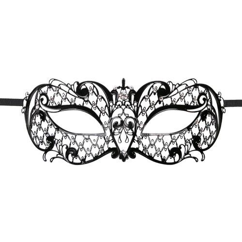Image of Easytoys Venetiaans Masker Metaal - Zwart