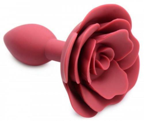 Image of Booty Bloom Siliconen Anaalplug Met Roos