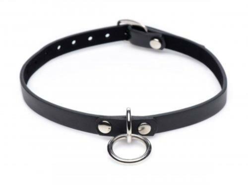 Image of Collared Vixen Collar Met Ring