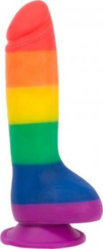 Image of Addiction - Justin Rainbow Siliconen Dildo - 20 cm