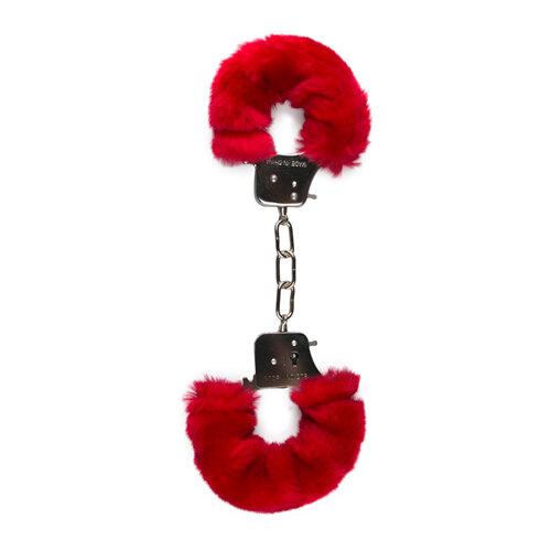 Image of Bonten handboeien - rood