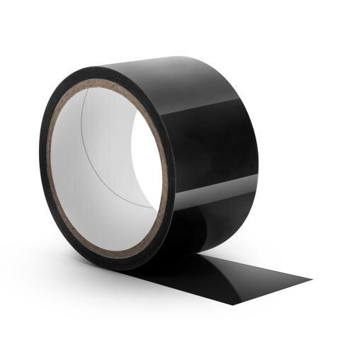 Image of Temptasia - Zwarte Bondage Tape - 18 Meter