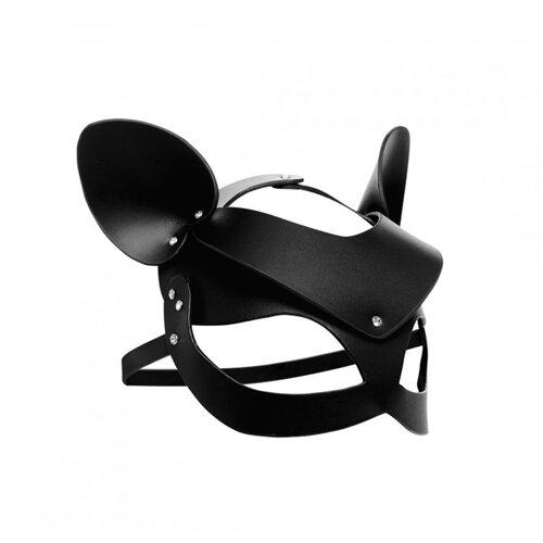 Image of Bad Kitten - Zwart Leren Masker