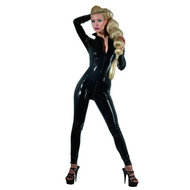 Latex Catsuit Met Ritsen – The Latex Collection